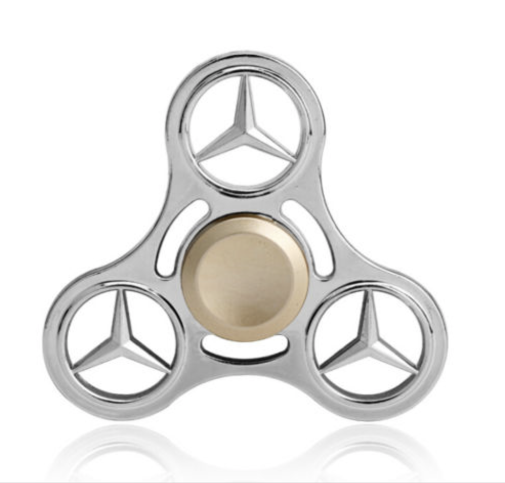 mercedes benz fidget spinner palm beach classics