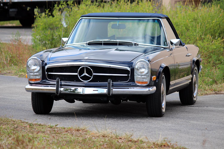Palm Beach Classics 1969 Mercedes 280sl 0012 Palm
