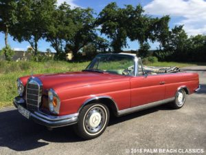 1967 MERCEDES 280 SE - Palm Beach Classics 27